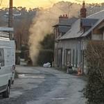 <b>Conduite de gaz arrachée à Houlgate : Une cinquantaine de personnes confinées</b>