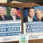 <b>Marine Le Pen en Seine-Maritime pour soutenir Jordan Bardella, tête de liste du Rassemblement Nation...</b>