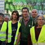 <b>VIDEO. Le député et réalisateur François Ruffin a rencontré les gilets jaunes en Sarthe</b>