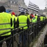 <b>Gilets jaunes. Le préfet leur interdit de manifester à Quimper, samedi 23 février</b>