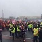 <b>Saint-Nazaire : la grève générale réunit un millier de manifestants</b>