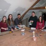 <b>Des adolescents réalisent une maquette de la ville de Grandvilliers (Oise)</b>