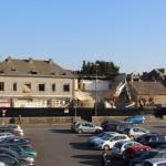 <b>Vidéo : la démolition de l'ancienne caserne des pompiers de Lamballe a commencé</b>