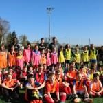 <b>Photos et vidéo. Les jeunes footballeurs de Grandvilliers (Oise) s'entraînent avec des joueurs ...</b>