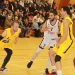 <b>Vidéo. Basket : Pont-l'Evêque, sans surprise, surclasse le CA Lisieux</b>
