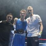 <b>Les Sables-d&#039;Olonne : Enzo Grau sacré champion de France de boxe élite</b>
