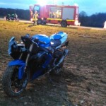 <b>Un motard blessé dans un accident entre Grainville et Fresne-l'Archevêque dans l'Eure</b>