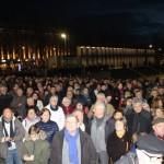 <b>Plus d'un millier de personnes rassemblées contre l'antisémitisme place de la Liberté à Br...</b>