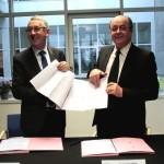 <b>À Louviers, le Département dépense 14,3 millions d'euros dans le contrat de territoire</b>