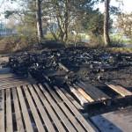 <b>Poubelles et cabane des gilets jaunes brûlées à Lisieux : un Lexovien condamné</b>