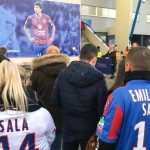 <b>EN IMAGES. Caen-Nantes : l'hommage à Emiliano Sala a commencé hors du stade avec les supporters</b>
