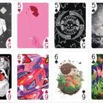 <b>Une Toulousaine rassemble 55 artistes et lance un jeu de cartes 100 % français</b>