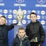 <b>Coupe de France : à Vitré, ils ont vu le trophée en vrai !</b>