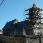 <b>La toiture de l'église de Bouillancourt-sur-Miannay est rénovée après 40ans de patience</b>