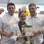 <b>Jeanne-Louise Jondot, élève du lycée Friant, remporte le concours de cuisine André Jeunet</b>