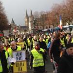 <b>Acte XIII des gilets jaunes : rassemblement dans le centre de Caen et débat au programme de ce samed...</b>