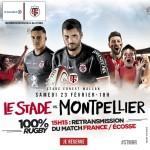 <b>Top 14 : Stade Toulousain – Montpellier, un choc à Ernest Wallon !</b>