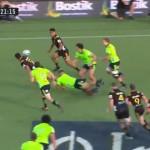 <b>Vidéo. Super Rugby : quand les arrières des Chiefs régalent face aux Highlanders</b>