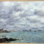 <b>Une vue de Saint-Vaast-la-Hougue d'Eugène Boudin estimée à 300 000  euros</b>
