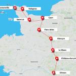 """<b>Nucléaire : un """"faux convoi"""" de Chinon à Flamanville, la route des combustibles pour l...</b>"""