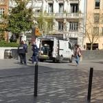<b>Toulouse. Pourquoi la station de métro a été fermée et le périmètre bouclé autour du Capitole, lundi</b>