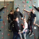 <b>Club d'escalade de Loudéac : les jeunes grimpeurs au sommet !</b>