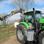 <b>Près de Dinan : À 55 ans, Michel Coadou crée son entreprise de travaux</b>