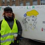 <b>Gilets jaunes : une soixantaine de femmes dans les rues de Vire Normandie</b>