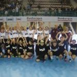 <b>Des jeunes handballeurs du Vimeu sur le parquet de la salle des Flandres à Dunkerque le 6 mars 2019</b>