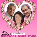 <b>Trois comédiens pour un mariage, dimanche, à Saint-Marcel</b>