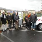<b>Cantal. La première borne de recharge rapide pour véhicules électriques est en service</b>