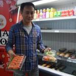 <b>Ce restaurateur de Revel propose à la vente des spécialités japonaises à emporter</b>