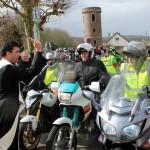 <b>Saint-Pierre-lès-Elbeuf. En images, un carnaval à moto pour sauver les fresques de l&#039;église</b>