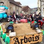<b>[Photos] Dimanche dernier, le carnaval arboisien a animé le centre-ville</b>