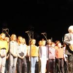 <b>Sablé-sur-Sarthe : Pierre Perret invite 29 enfants sur scène</b>