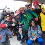 <b>Carnaval de Granville : 200 personnes à la gare de Vire Normandie</b>