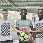 <b>Solidarité : trois étudiants de Pontivy collectent du matériel sportif pour le Burkina Faso</b>