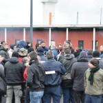 <b>Alençon. Le blocage se poursuit au centre pénitentiaire de Condé-sur-Sarthe</b>
