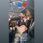 <b>Football. Emmanuel Imorou au milieu des supporters caennais devant Caen - PSG</b>