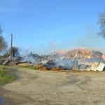 <b>Pays du Neubourg. Plus de 250 tonnes de lin et de paille partent en fumée à Ecquetot</b>
