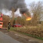 <b>Yvelines. Incendie en cours sur un chantier naval de Triel-sur-Seine</b>