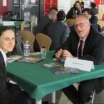 <b>Journée Objectif Emploi au lycée Friant de Poligny : 41 entreprises ont présenté leurs besoins en ma...</b>