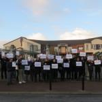 <b>Mobilisation : des difficultés à la rentrée 2019 pour le collège La Rose des Vents de Friville-Escar...</b>