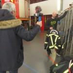 <b>Benoit Coulaud, le youtubeur pompier, prépare une vidéo pour présenter une caserne dans l'Eure</b>
