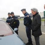 <b>Des contrôles sur les lieux de l'accident qui a coûté la vie à un motard, route du Mans à Sablé</b>
