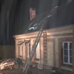 <b>Une maison d&#039;habitation proie des flammes à Sainte-Gauburge</b>