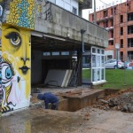 <b>Bureau de poste à Janval à Dieppe : les travaux ont commencé</b>