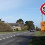 <b>Perros-Guirec. 50 km/h maximum route de Pleumeur</b>