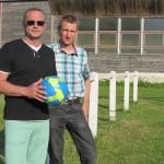 <b>Sébastien Liberge, président du FC de la Varenne. «Nous sommes un jeune club qui se structure petit...</b>