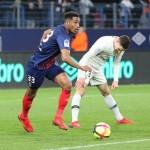 <b>Le joueur du week-end. Performant contre le PSG, Younn Zahary a fait gagner un joueur au SM Caen</b>